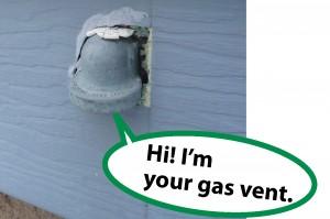 talking gas vent