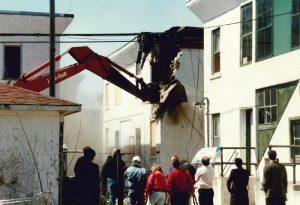 Demo of what would become Linden Place